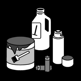 hazardous waste / small chemical waste