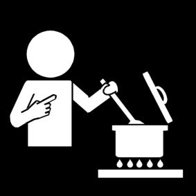Kleurplaat Koken En Bakken Sclera Picto S
