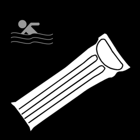 swim: air mattress / air mattress