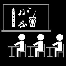 muziek / muziekklas