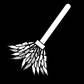 dust off / feather duster