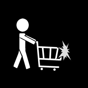 shopping cart: collision